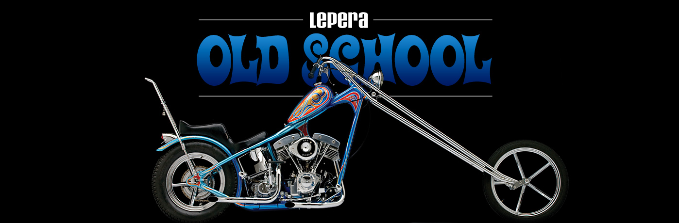LePera Old School Custom Harley Seats