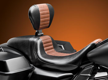 Daytona // Sport // Backrest // Brown Pleated Seating